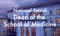 National Search: Dean of the School of Medicine