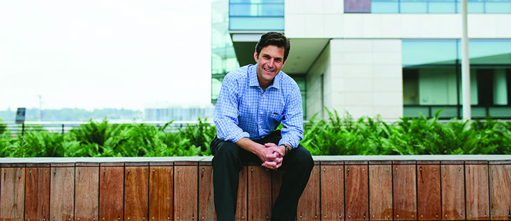 Alumni focus: Peter Ehrenkranz MD MPH, senior program officer in HIV treatment, Gates Foundation.